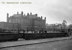 Oswald Road School, Chorlton cum Hardy, 1958
