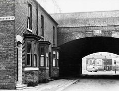 Bennet Street from Rostron Street, 1964