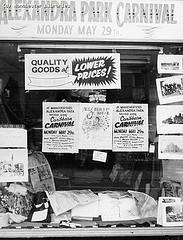 Alexandra Park Carnival poster, Princess Road, 1972