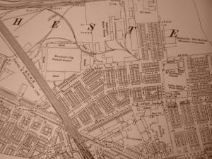 Ordnace Survey map of Gorton, 1920s