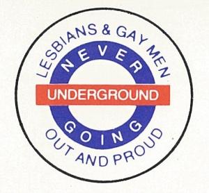 Never Going Underground (ref: M775/5)