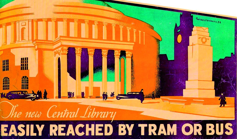 The New Central Library (M29 file 71J)