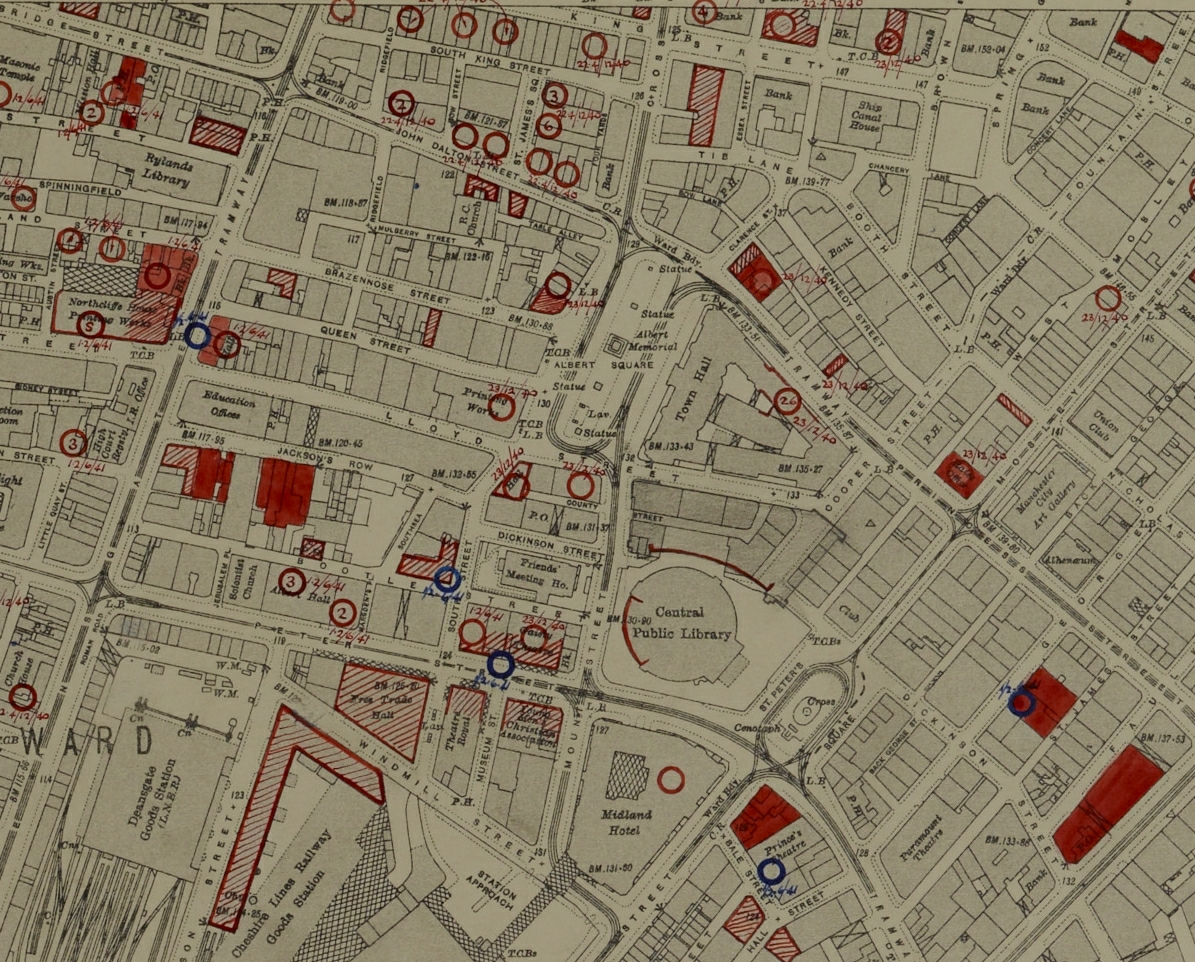 Aerial Bomb Maps Explored  Archives