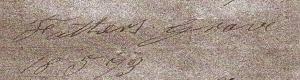HS grave number