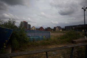 Land awaiting development by Urban Splash