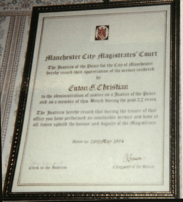 Charlotte - Euton certificate