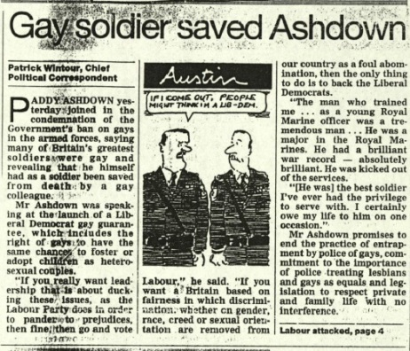 Homosexuality and the Armed Forces
