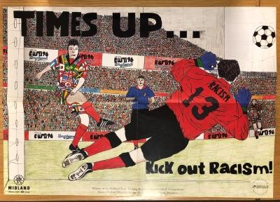 Sport poster racism 2