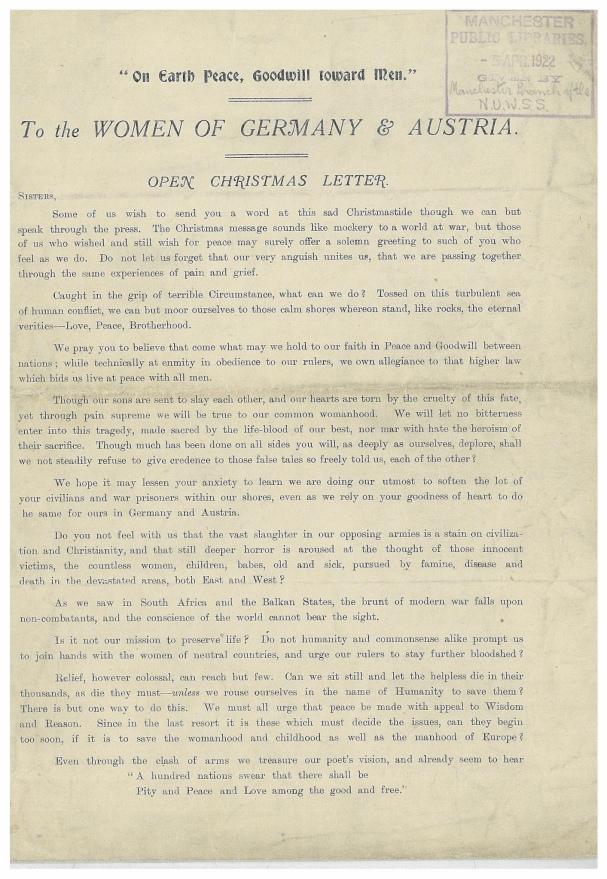 Xmas letter