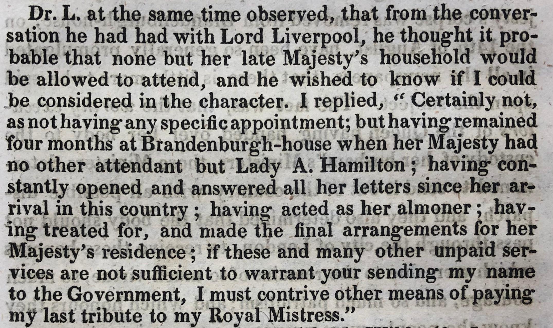 Henry Hunt letter Jacob