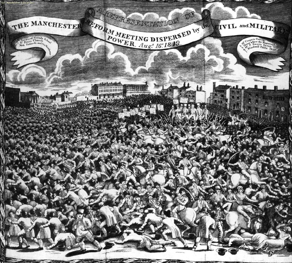 The Peterloo Massacre: The Journal of Henry Hunt (Part 4)