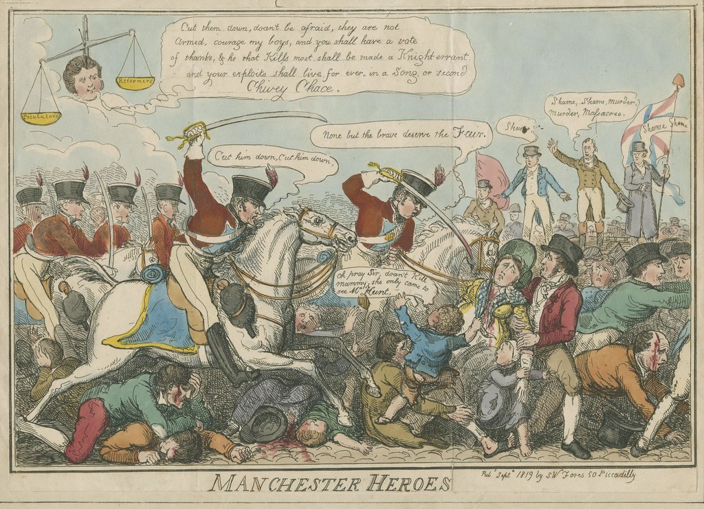 Remembering Peterloo : what the Broadsides of the day reveal