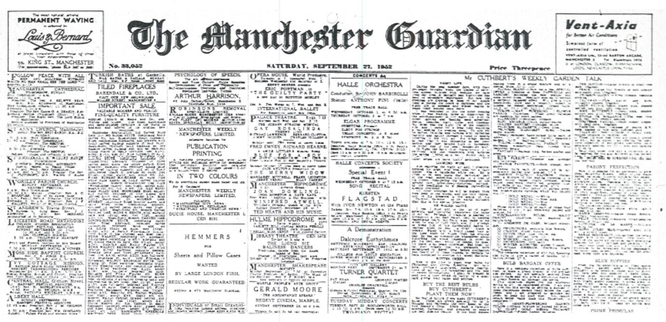 200 Years of the Guardian Newspaper